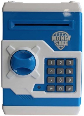 Tiny Mynee Electronic piggy bank/coin safe/money locker (blue) Coin Bank