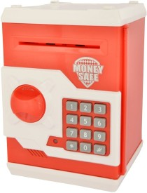 Saurabh Import Money Safe for Kids Coin Bank