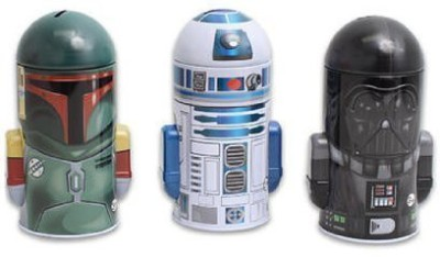 Star Wars Molded Saving Banks Coin Bank(Multicolor)
