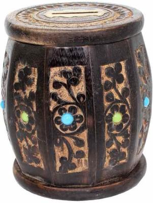 Desi Karigar small drum Coin Bank