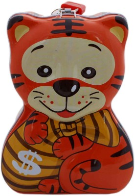 Tootpado Tiger Cartoon Piggy Bank Coin Bank