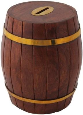 Crafts,man Wooden Box Coin Bank