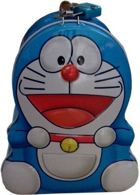 Wishkey Doreamon Design Cute Coin Bnak Coin Bank