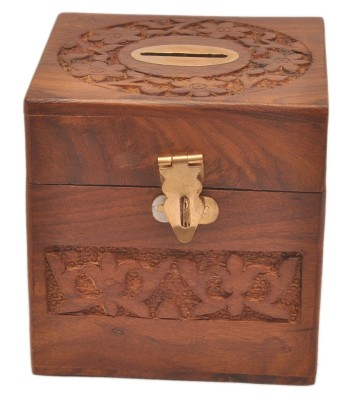 sparkle india carving Coin Bank