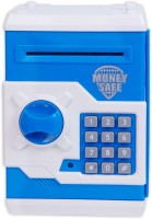 ATM Machine Money Safe Coin Bank(Multicolor)