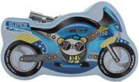 Tootpado The Super Bike Style Metal Piggy Kiddy Money Toy for Kids Coin Bank best price on Flipkart @ Rs. 240