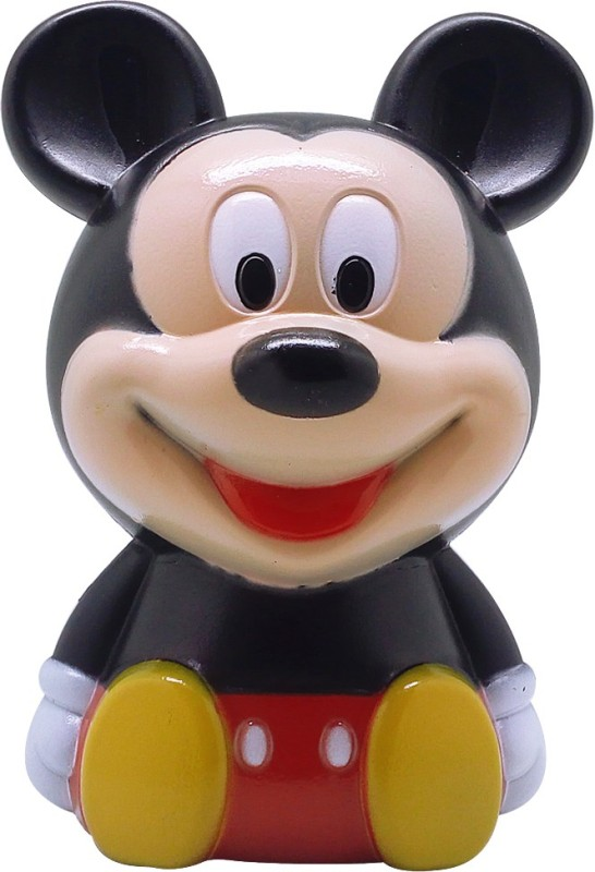 Tuelip Cute Kids Favorite Cartoon Character Mickey Mouse Piggy,Money Coin Bank