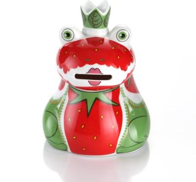 Multiple Choice Frog Prince Tomato Coin Bank