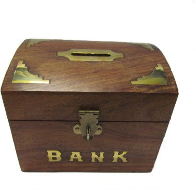 S C Handicrafts Box Coin Bank
