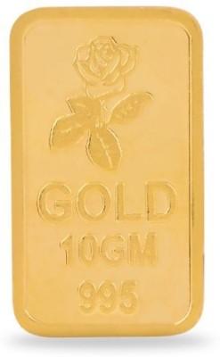 Araanz by Tribhovandas Bhimji Zaveri Delhi 24 (995) K 10 g Gold Coin