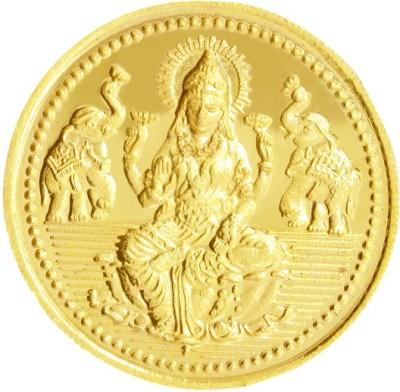 Kalyan Jewellers Lakshmi 22 K 0.99 g Gold Coin