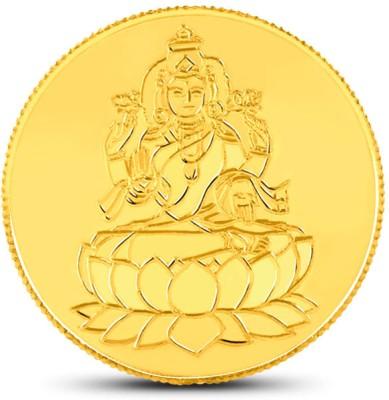 Caratlane Laxmi 24 (995) K 1 g Gold Coin