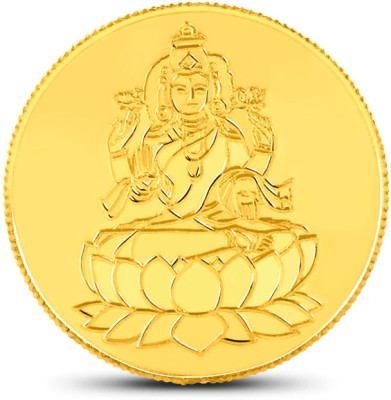 Caratlane Laxmi 24 (995) K 2 g Gold Coin