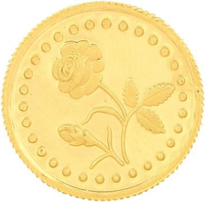 Malabar Gold and Diamonds MGRS999P8G 24 (999) K 8 g Gold Coin