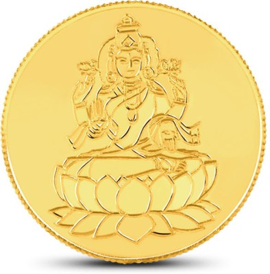 Caratlane Laxmi 22 K 1 g Gold Coin