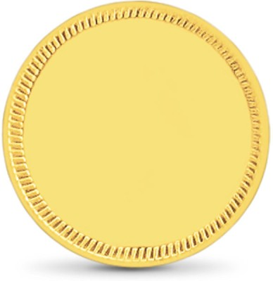 Caratlane Plain 22 K 1 g Gold Coin