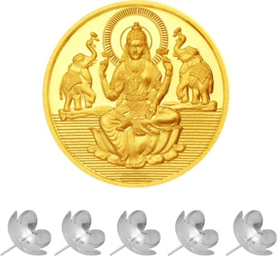 JPearls Brilliant 24 (995) K 1 g Yellow Gold Coin