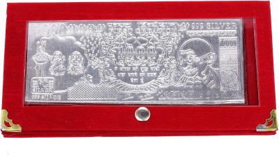 Jewel Fuel Silver currency note with velvet case Silver Jewellery