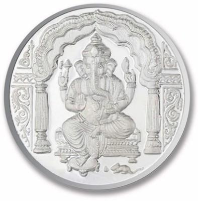 P.N.Gadgil Jewellers Ganesh Om S 999 20 g Silver Coin