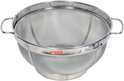 Rituraj Heavy SS colander basket Colander(Silver Pack of 1)