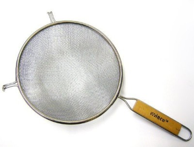 Winco Ms3A8D Strainer With Double Fine Mesh