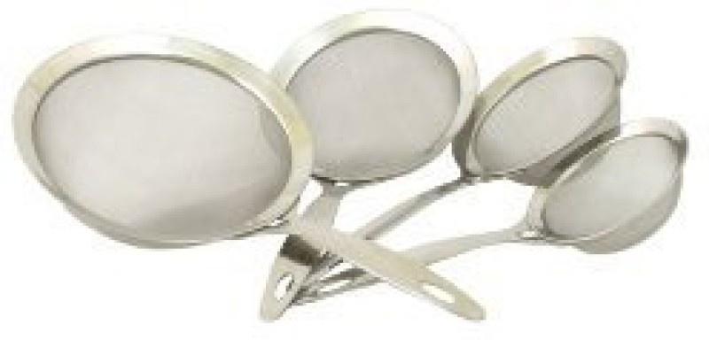 Cook Pro 759 4Piece Professional Heavy Duty Stainless Steel Strainer Set