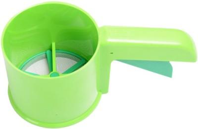 Noorstore Steel & Plastic Flour Shifter Strainer(Multicolor)