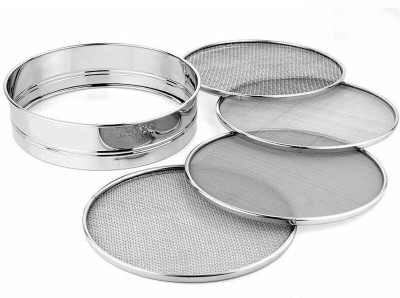 Rituraj Collapsible Sieve(Silver)