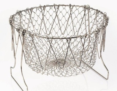 Ideal Home Multi Purpose Chef Basket Collapsible Colander