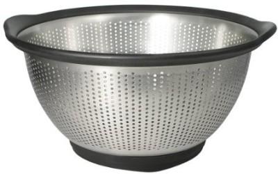 KitchenAid Gourmet 5Quart Stainless Steel Colander (Black)