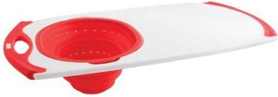 Dexas Ots Grippboard With Oval Silicone Strainer