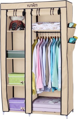 Yutiriti Fancy & Portable Aluminium Collapsible Wardrobe