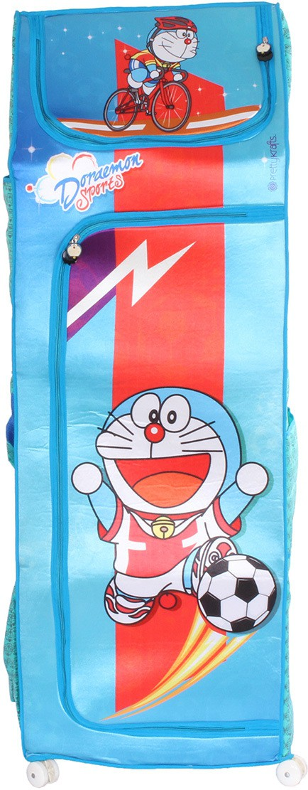 View Doraemon Polyester Collapsible Wardrobe(Finish Color - Blue) Furniture (Doraemon)