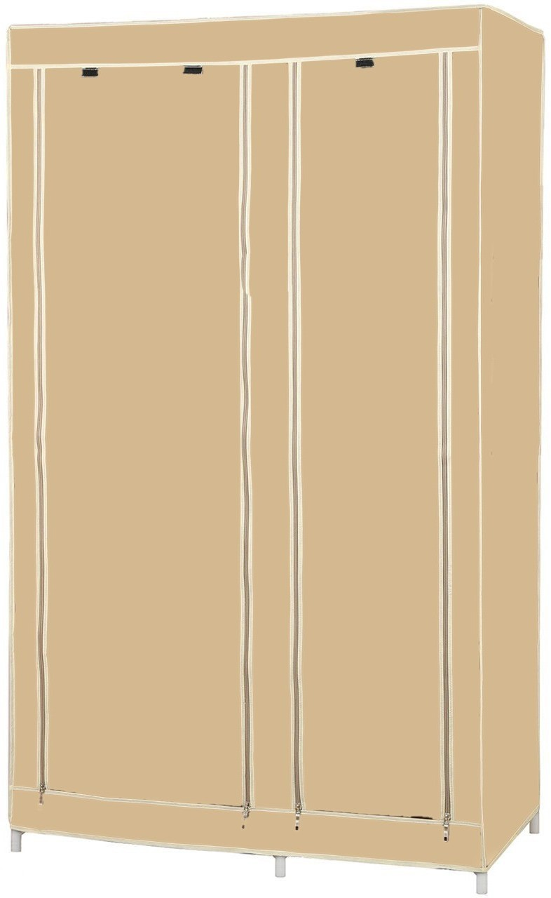 View SRBPL Stainless Steel Collapsible Wardrobe(Finish Color - Beige) Furniture (SRBPL)