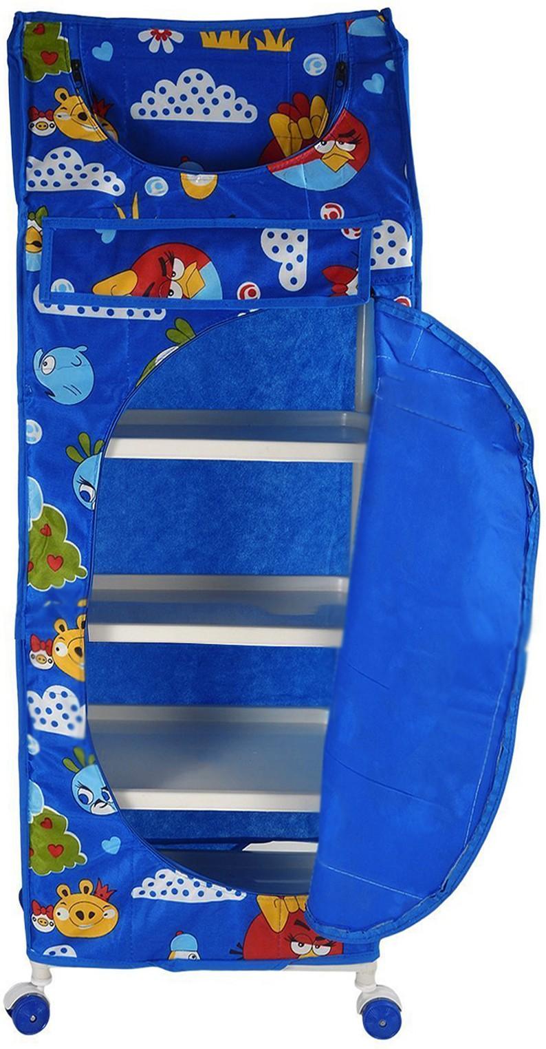 View Flipzon 5 Shelve Blue PVC Collapsible Wardrobe(Finish Color - Blue) Furniture (Flipzon)