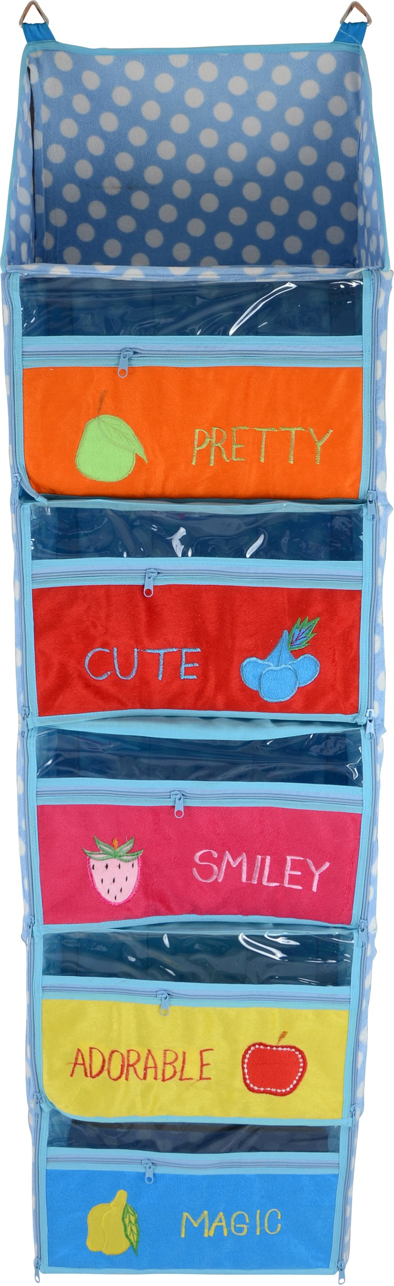 View Baby Grow Cotton Collapsible Wardrobe(Finish Color - Blue) Furniture (Baby Grow)