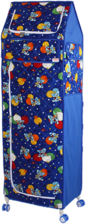 View Amardeep Celebration PP Collapsible Wardrobe(Finish Color - Blue) Furniture (Amardeep)
