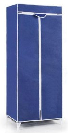 Evana Carbon Steel Collapsible Wardrobe(Finish Color - Blue)