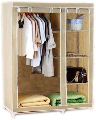 Elite Mkt Jute Collapsible Wardrobe