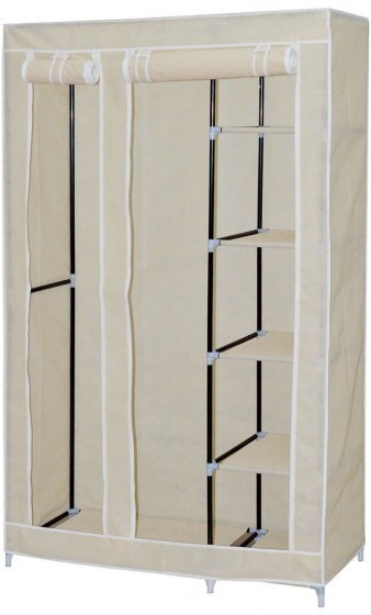 View Viyasha Jute Collapsible Wardrobe(Finish Color - Cream Wardrobe) Furniture (Viyasha)