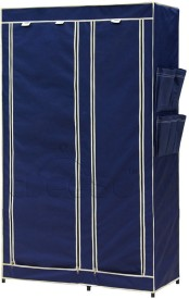 CbeeSo Stainless Steel Collapsible Wardrobe(Finish Color - Navy Blue)