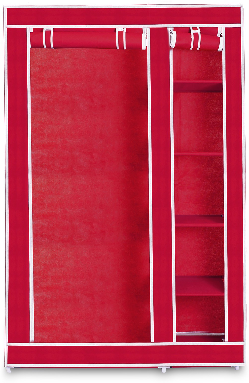 View Birdy Cotton Collapsible Wardrobe(Finish Color - Pink) Furniture (Birdy)
