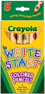 Crayola Art Creation Round Shaped Color Pencils