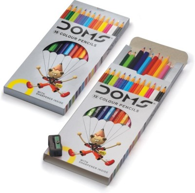 DOMS Art Creation Round Shaped Color Pencils