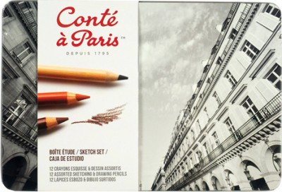 Conte a Paris Sketch Color Pencil
