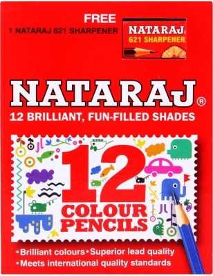 Natraj Art Creation Round Shaped Color Pencils