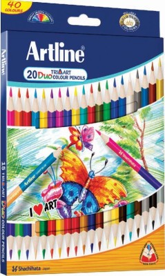 Artline Tri- Art Duo Triangular Shaped Color Pencils