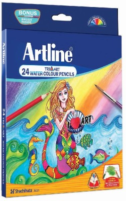 Artline Tri- Art Water Triangular Shaped Color Pencils