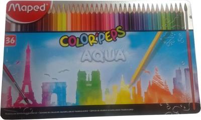 Maped AQUA Triangular Shaped Shaped Color Pencils(Set of 1, Multicolor)