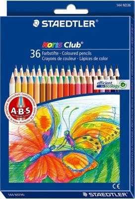 Staedtler Noris Club Regular Shaped Color Pencils